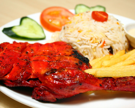 Small arabic bbq chicken