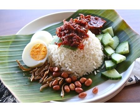 Small nasi lemak