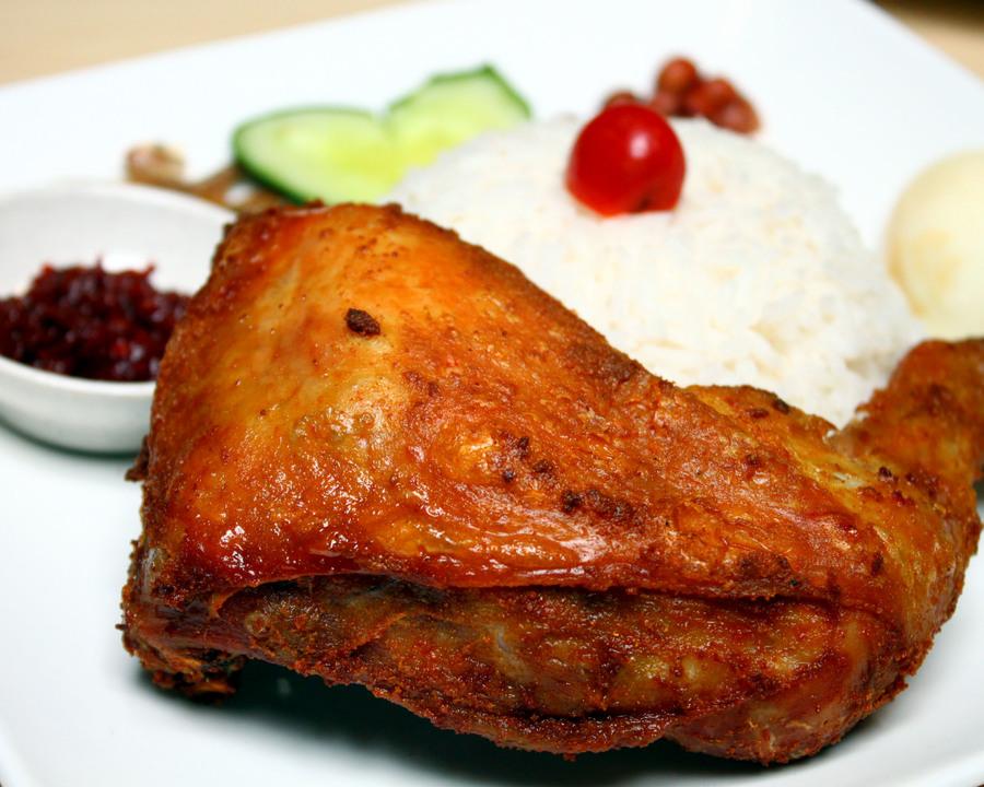 Medium nasi lemak special