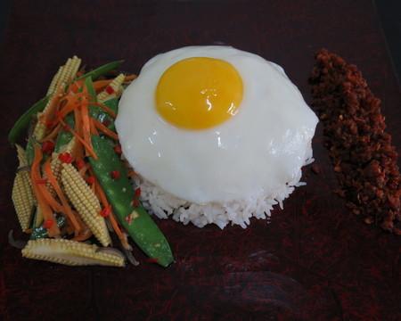 Small sambal udang kering w rice